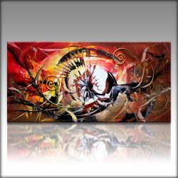Artist: Gia Hung *Title: DomenicoMedium: Acryl on canvasOpgespannen op frameSize: 120 cm x 60 cm .  € 189,00