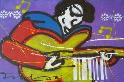 Artist: FabianTitle: ElvisMedium: Acryl on canvasOpgespannen op een 4 cm dik frame van hoge kwaliteitSize: 120 cm x 80 cm x 4 cmAan de voorzijde hand gesigneerd . € 295,00