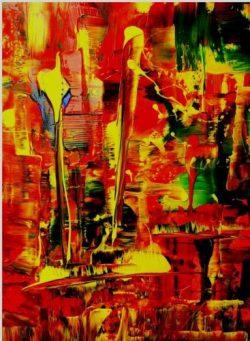 Artist: WoganiTitle: Last LightMedium: Acryl on canvasOpgespannen op een Classic 65 mm spielatten frame van hoge kwaliteit,zijkanten zijn mee geschilderd.Size: 80 cm x 60 cm . € 189,00  Nu voor € 125,00