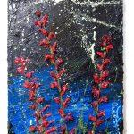 Artist: David Padworny (New York)Title: Untitled nn61Medium: Oil on canvasOpgespannen op frame Size: 30 cm x 40 cm ,Gesigneerd + certificaat van echtheid € 395,00