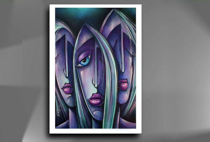""""""" Missing You """" Prachtige Giclee op hoogwaardig papier, afmeting 48 cm x 33 cm , deze giclee kunt u zelf inlijsten geheel naar uw eigen keuze wat kleur betreft die bij uw interieur past, € 69,-"""