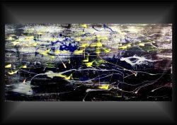 Artist: R.PreinTitle: DarxMedium: Acryl on canvasOpgespannen op een Classic 65 mm spielatten frame van hoge kwaliteit,zijkanten zijn meegeschilderd.Size: 155 cm x 75 cm. € 295,00