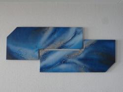 ... Blue ... is een Exclusief & Uniek Kunstwerk, enig in zijn soort, een werkelijk prachtige(Handgeschilderde) creatie van Jacky Phoenix (DLD)dit prachtig vormgegeven werk is vervaardigd met de hoogste kwaliteit matrialen, voorzien van een beschermende vernislaag die garant staat voor een lange levensduur, de zijkanten van dit werk zijn tevens bewerkt zodat het geheel mooi doorloopt, totale afmeting van het werk 155 cm x 65 cm. € 189,00